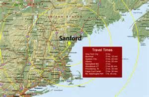 San Ford Sanford Nyc Map 1 Sanford Economic Development