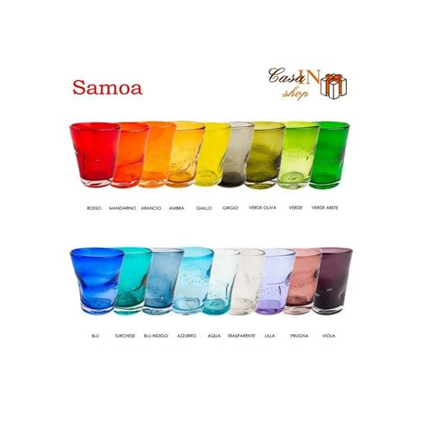 comtesse bicchieri samoa bicchiere acqua comtesse casa in shop negozio di