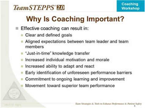 teamstepps 2.0: module 9. coaching workshop | agency for