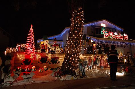 rancho penasquitos christmas card lane san diego travel blog