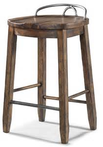 Cowboy saddle stool simple elegance frontroom furnishings