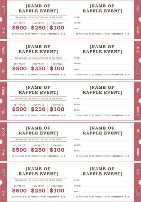 free printable prom ticket template raffle ticket template 2 toinho pinterest bilhete de