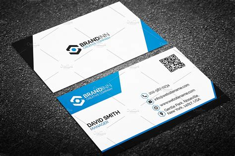 Modern Business Card Template Business Card Templates Creative Market Buisness Card Template