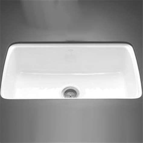 White Undermount Kitchen Sinks Single Bowl K5864 5u 0 Cape Dory White Color Undermount Single Bowl Kitchen Sink White At