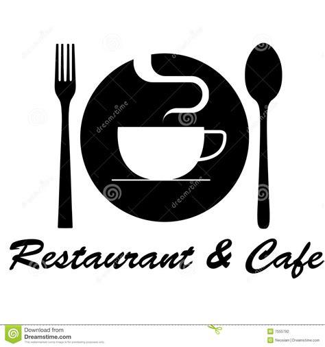 House Plan Symbols by Restaurant Amp Cafe Logo Stock Photography Image 7555792