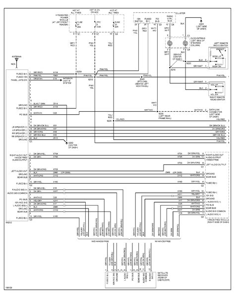 2002 dodge dakota radio wiring diagram efcaviation