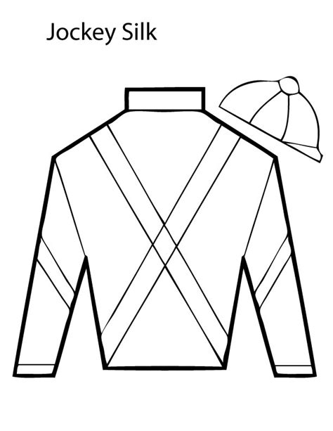 Jockey Silks Coloring Pages free coloring pages of jockey silks