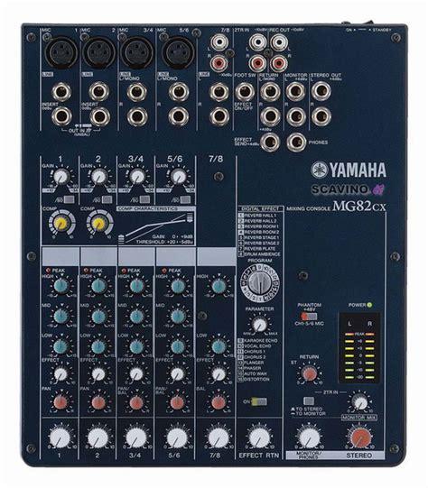 Baru Mixer Yamaha Mg82cx mixer mg82cx yamaha mixer analogico 8 canali mixer yamaha