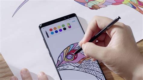 Note 9 Drawing App by A New Way To Communicate The S Pen Of The Galaxy Note8