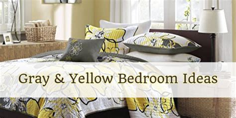 gray and yellow bedding bedroom decor ideas we