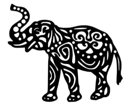 Wallpaper Stiker Tribal 10 M 5 elephant decal 5 x 6 tribal aztec pattern by montanajc on etsy