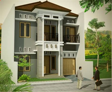 desain depan rumah bertingkat gambar desain warna rumah tak depan mso excel 101