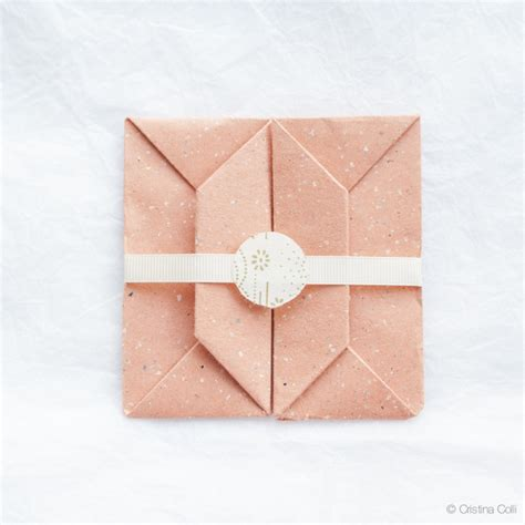 Make An Origami Envelope - an origami envelope cristina colli
