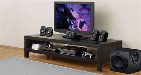 Logitech Speaker Z906 5 1 Dolby logitech 5 1 z906 surround sound speakers g蛯o蝗niki