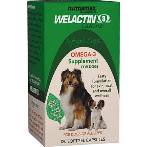 omega 3 supplements for dogs welactin canine omega 3 softgel supplement for dogs
