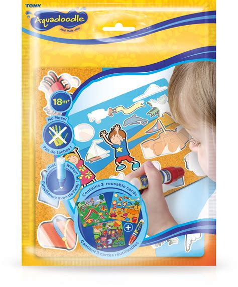 aquadoodle mini tomy aquadoodle mini mats scenery set drawing crafts