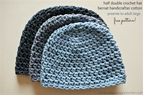 how to attach yarn to a crocheted beanie so it looks like hair half double crochet hat pattern 2 free pattern oombawka