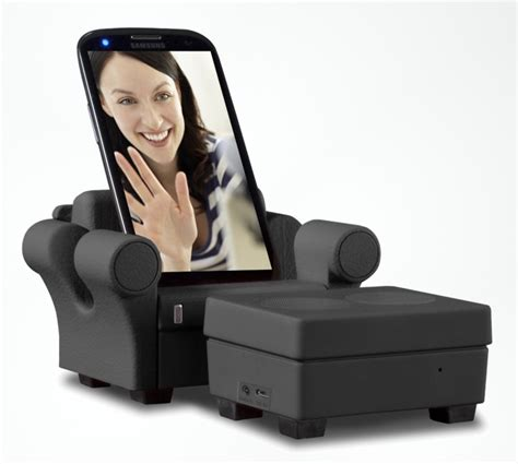 phone couch the smartphone sofa that will charge play music and take