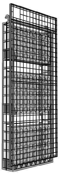 strutture per giardini verticali strutture per giardino verticale terminali antivento per