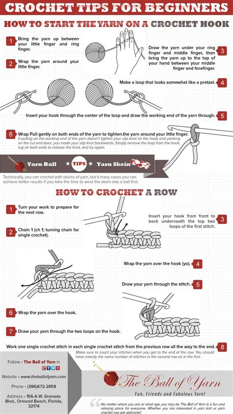 starting a knitting business crochet tips for beginners visual ly