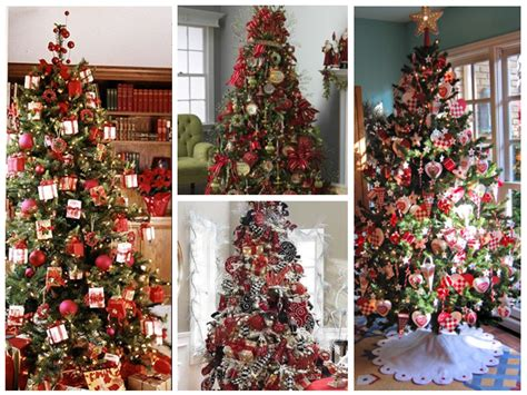 decoracion de ventanas navideñas con mallas arboles de navidad rojos flores con flocado navidad rbol