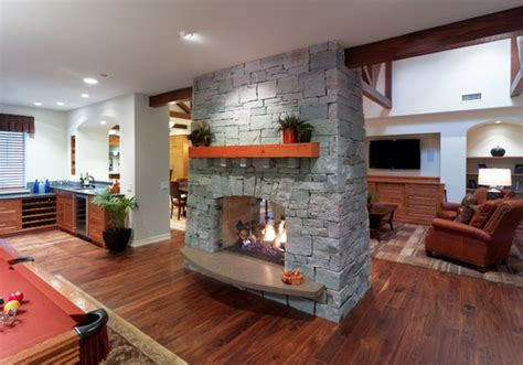 2 Sided Fireplace Ideas by A Sided Fireplace