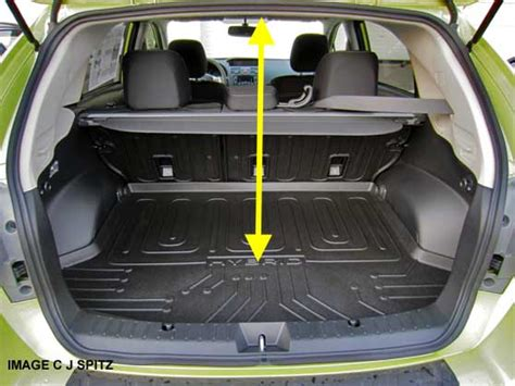 subaru crosstrek interior trunk 2014 subaru crosstrek research webpage premium