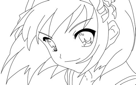 kawaii faces coloring pages cute anime face girls coloring pages coloring home