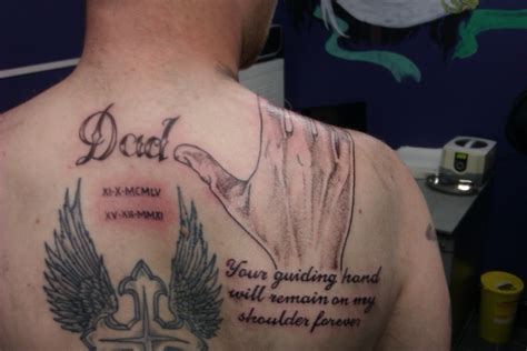 in memory of dad tattoos for daughters memorial tattoos designs ideas and meaning tattoos for you