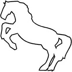 Beautiful Images Facile A Dessiner #9: Coloriage-cheval-facile-1.jpg