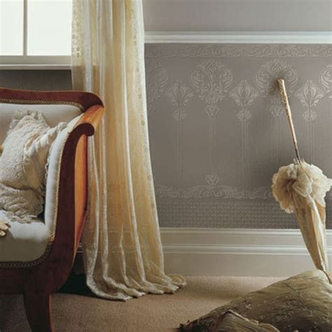 gap interiors classic hallway with wallpaper above dado 54 best images about sitting room wall treatment on pinterest