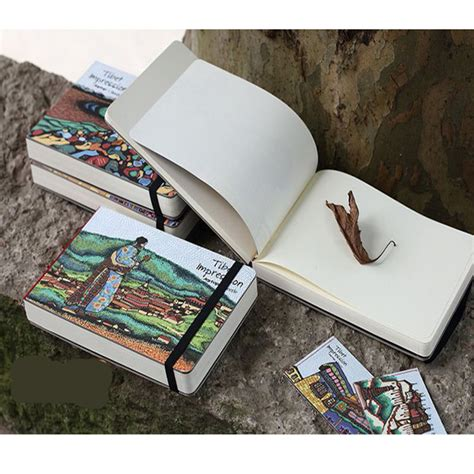 sketch book comprar stationery wood a5 notebook sketchbook blank notepad