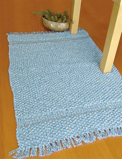 knitted rug patterns free 81 best images about floor mats on