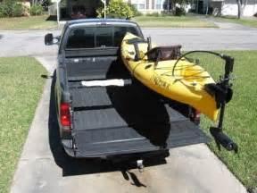 truck bed kayak rack low profile kayak rack for a truck diy part 1 youtube