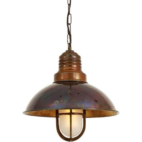 Nautical Ship Deck Ceiling Pendant Light In Antique Brass Style Ceiling Light Fixtures