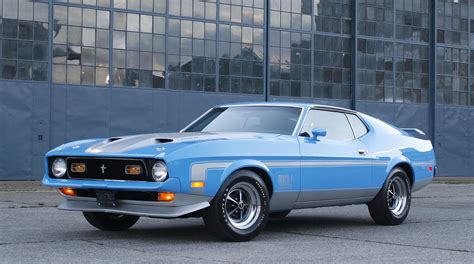 mach 1 mustang show stopping ford mustang mach 1 fastback being auctioned