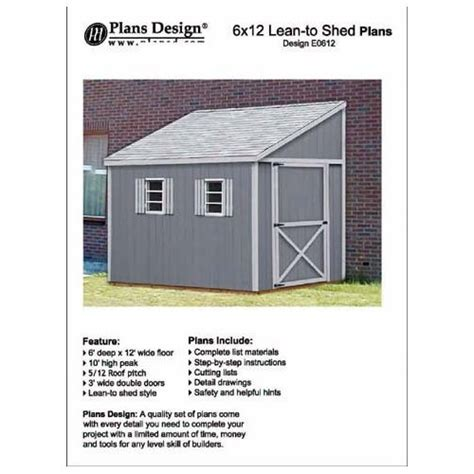 How To Build A Lean To Storage Shed by How To Build A Lean To Shed Plans Woodworking Projects
