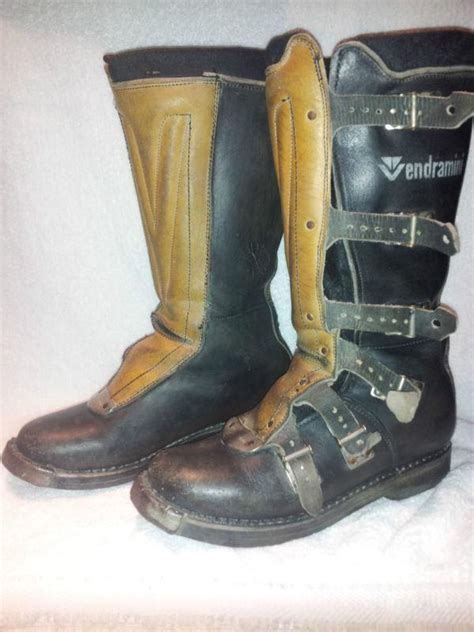 Purchase Vintage Vendramini Motocross Boots Italy