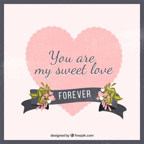 my sweet you are my sweet background vector premium