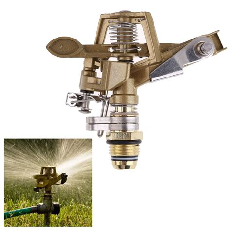 Sprinkler Spray Nozzle Air Irigasi Taman Copper 4 Holes rotate sprinkler spray nozzle air irigasi taman copper 1 2 inch copper jakartanotebook