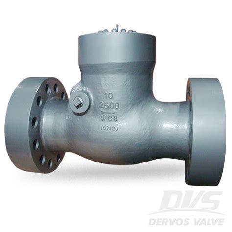 10 swing check valve swing check valve 4 inch class 1500 wcb rtj dervos