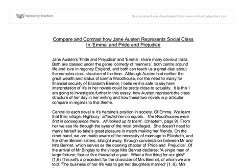 jane austen biography essay compare and contrast how jane austen represents social