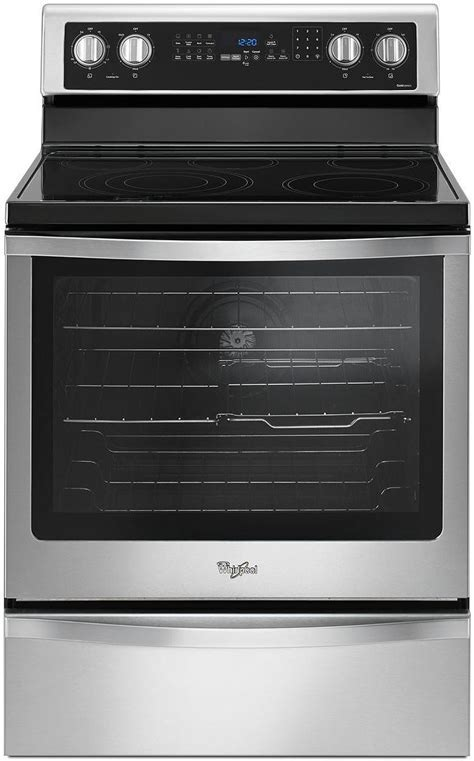 Whirlpool Stainless Steel Electric Range   WFE745H0FS