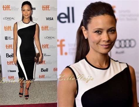 Thandie Newton And Famke Janssen In Stella Mccartney by Bn Carpet Fab Half Of A Yellow Sun Tiff Premiere