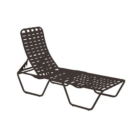 tradewinds outdoor furniture tradewinds lido crossweave contract java patio chaise