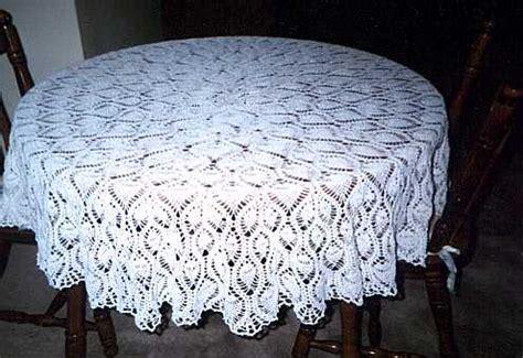 Crochet Patterns Free Tablecloths