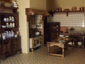 Victorian Kitchen Furniture Late Victorian English Manor Dollhouse 1 12 Miniature