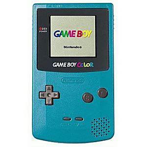 gameboy color for sale teal boy color system on sale