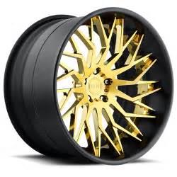 Black And Gold Truck Wheels Xa80 Tryst Dub Wheels