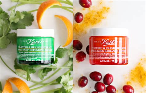 Masker Kiehl S by Kiehl S Maskers Met Koriander En Cranberries Beautylab Nl